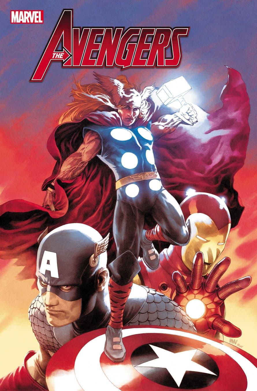 Avengers #750 Variant Cover by Steve Mcniven