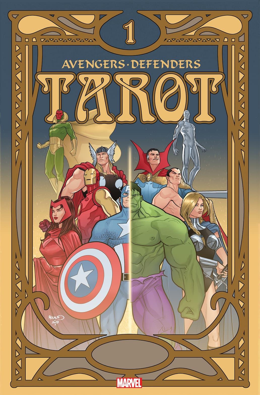 avENGERS/DEFENDERS: TAROT #1