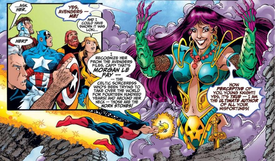 Morgan le Fay and the Avengers
