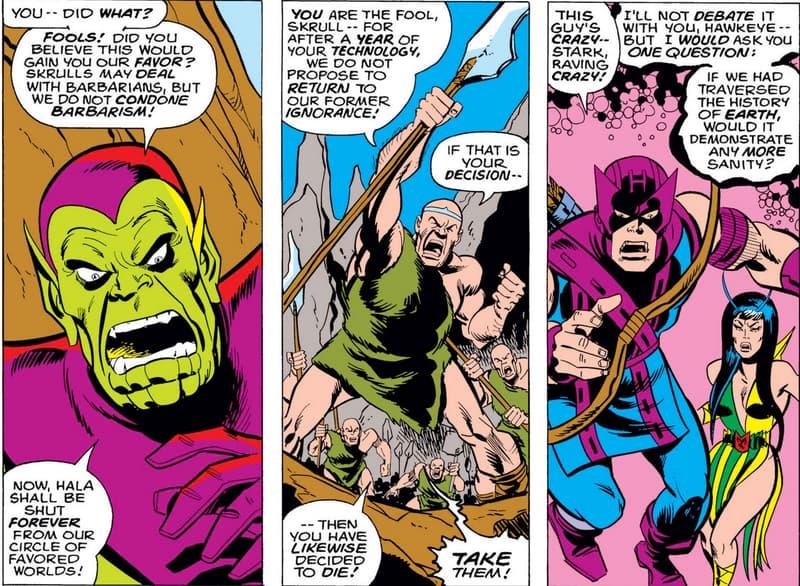 Avengers #133