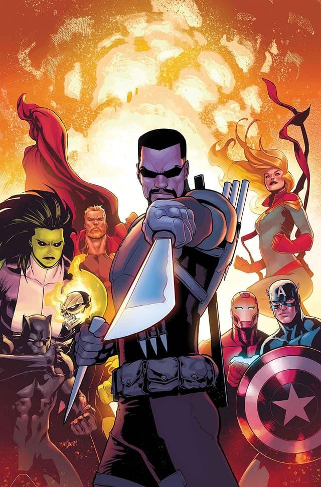 Cover of Avengers 16