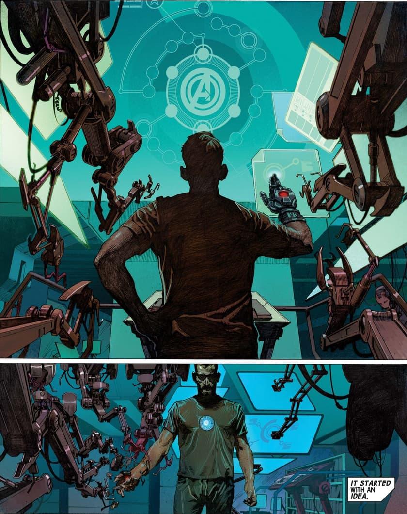 Avengers #1 2012