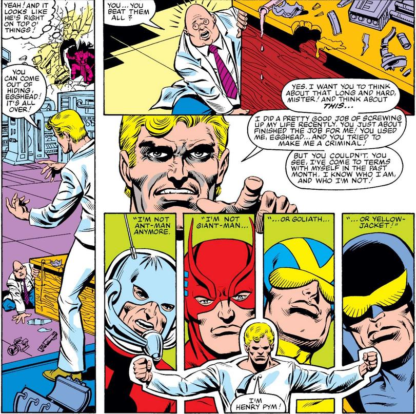 Hank Pym quits