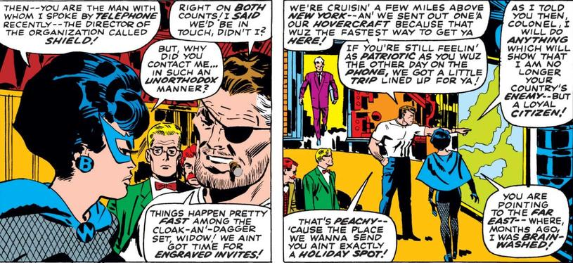 Nick Fury makes Black Widow an offer