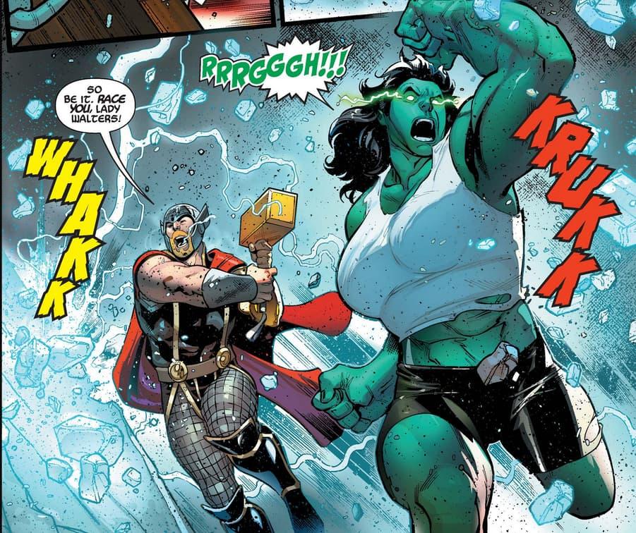 She-Hulk in Avengers