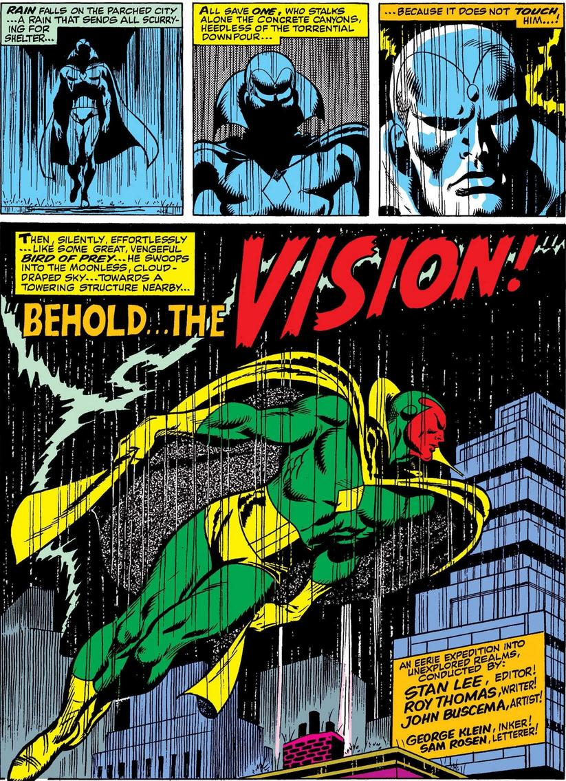 The Vision debut
