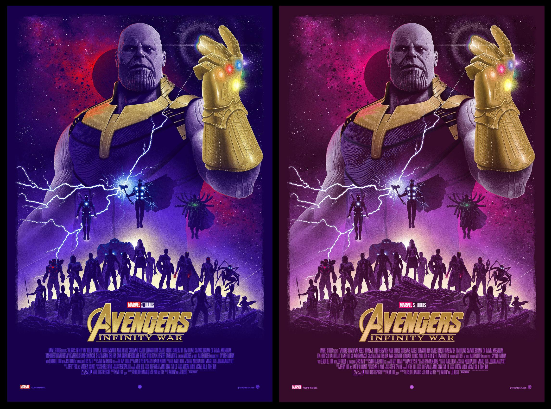 Avengers Infinity War by Marko Manev
