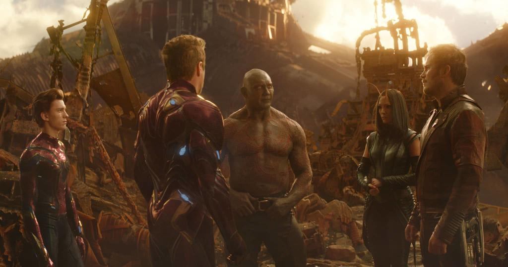 Avengers meet Guardians of the Galaxy