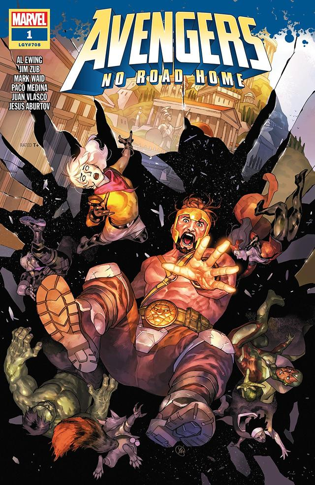 Avengers: No Road Home #1 cover