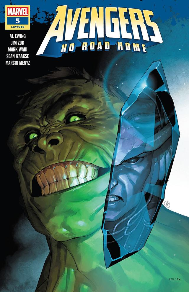 Cover of Avengers No Road Home #5