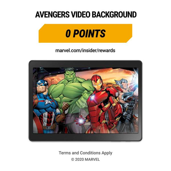 Marvel Insider Rewards: Avengers Video Background 0 points
