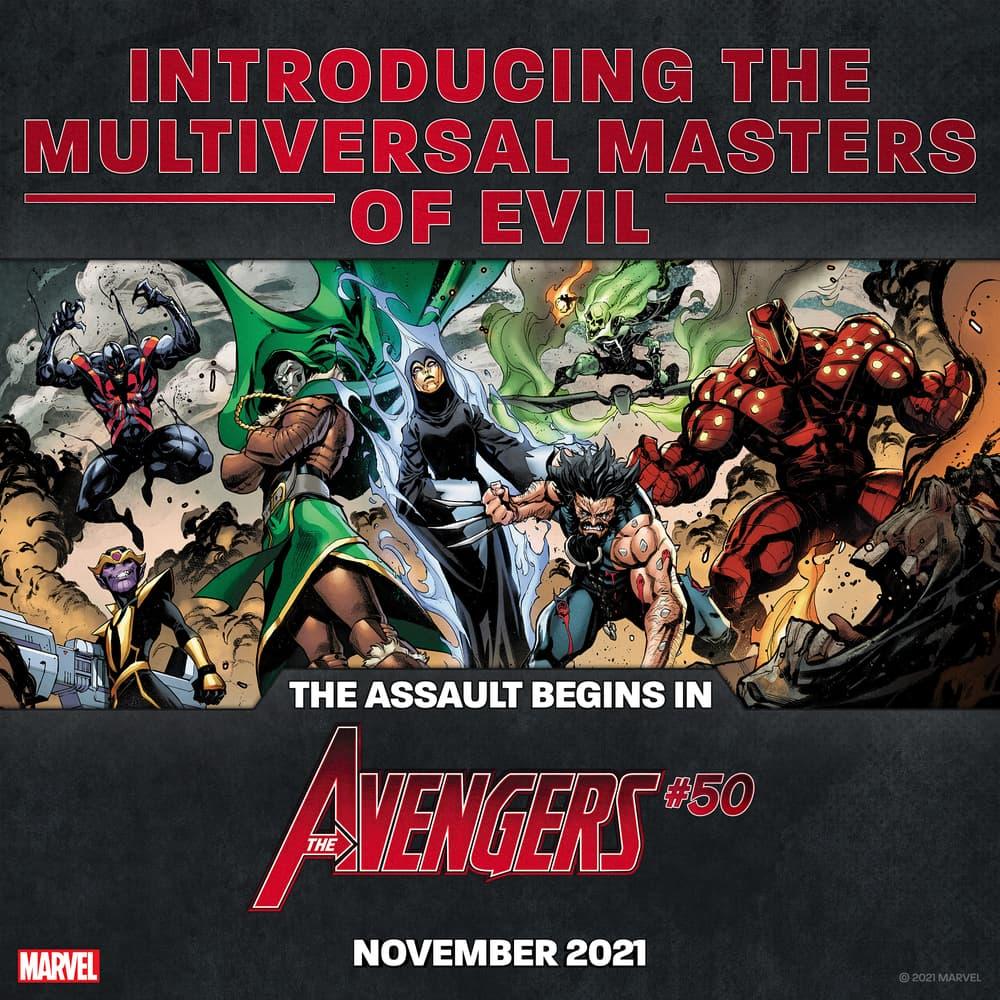 Avengers #50 Teaser