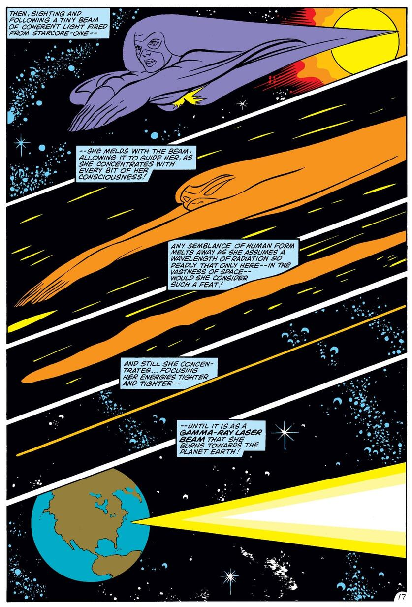Monica redefines astrophysics in AVENGERS (1963) #233.