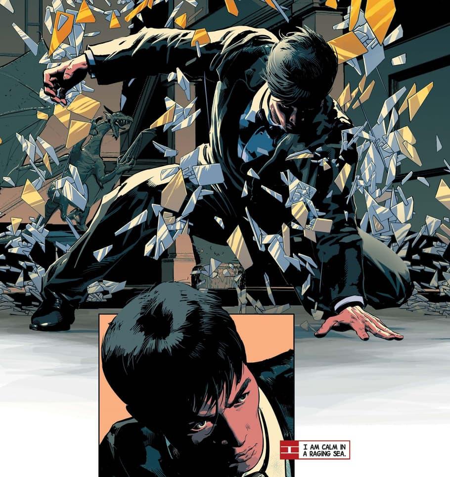 Shang-Chi stars as an Avenger in AVENGERS (2012) #11.