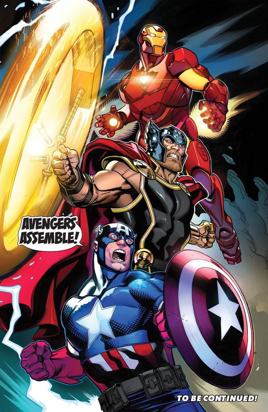 Big Three Avengers Assemble!