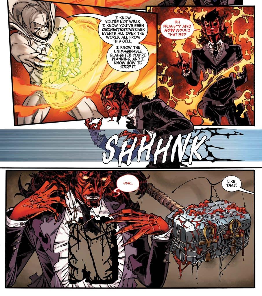 "The ""death"" of Mephisto"