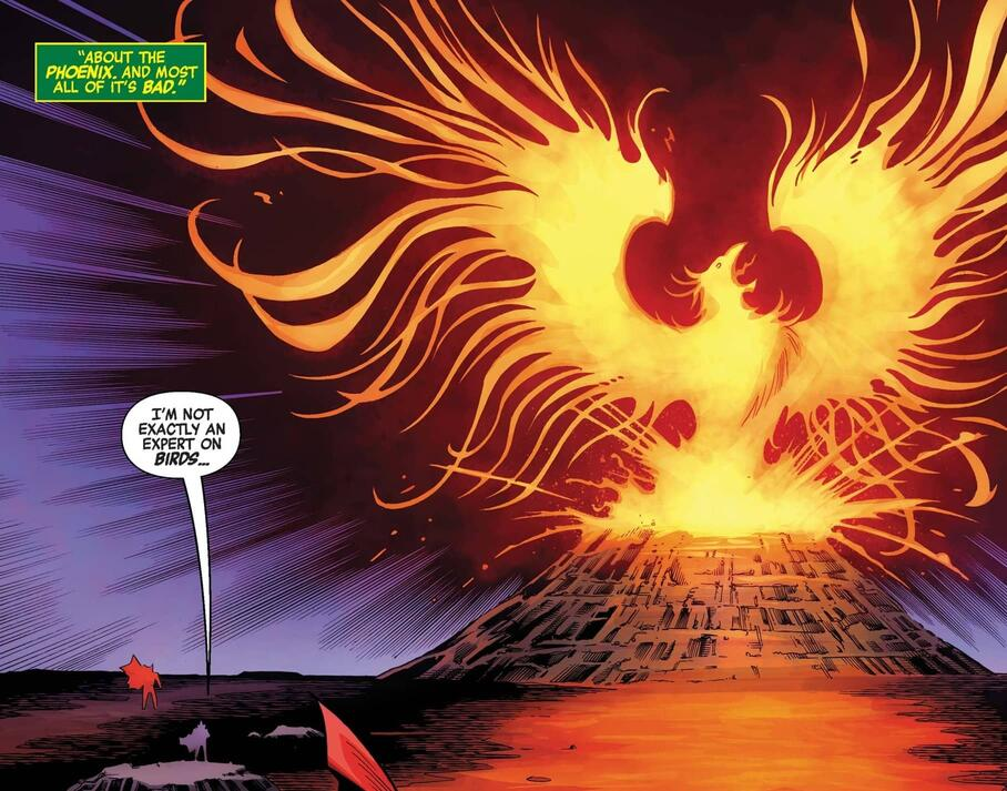 The return of the Phoenix Force.