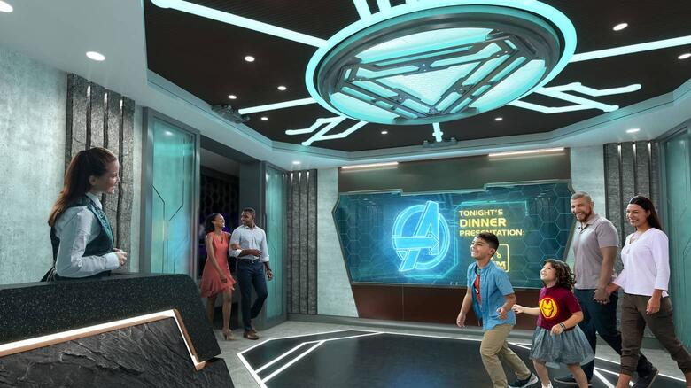 Super Heroes Take to the High Seas on New Disney Cruise Line Ship  Marvel