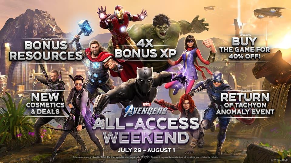 Avengers All-Access Weekend