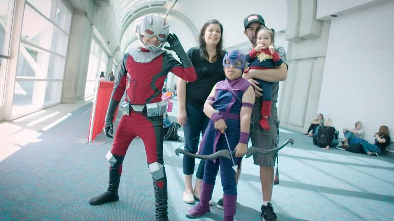 Cosplayers Ben Alcaraz Silvia Vargas Marvel Becoming Avengers Family