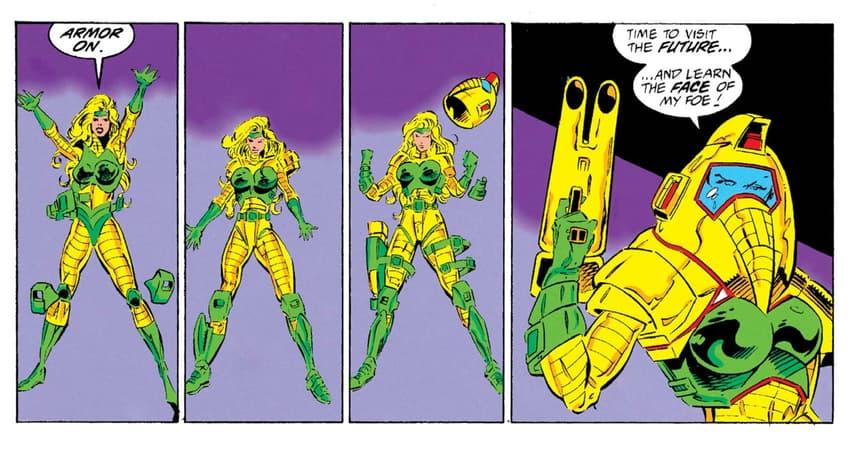 Ravonna in her Terminatrix armor.