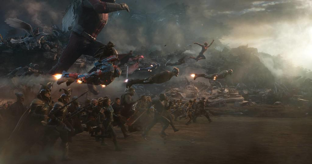 Avengers Endgame final battle