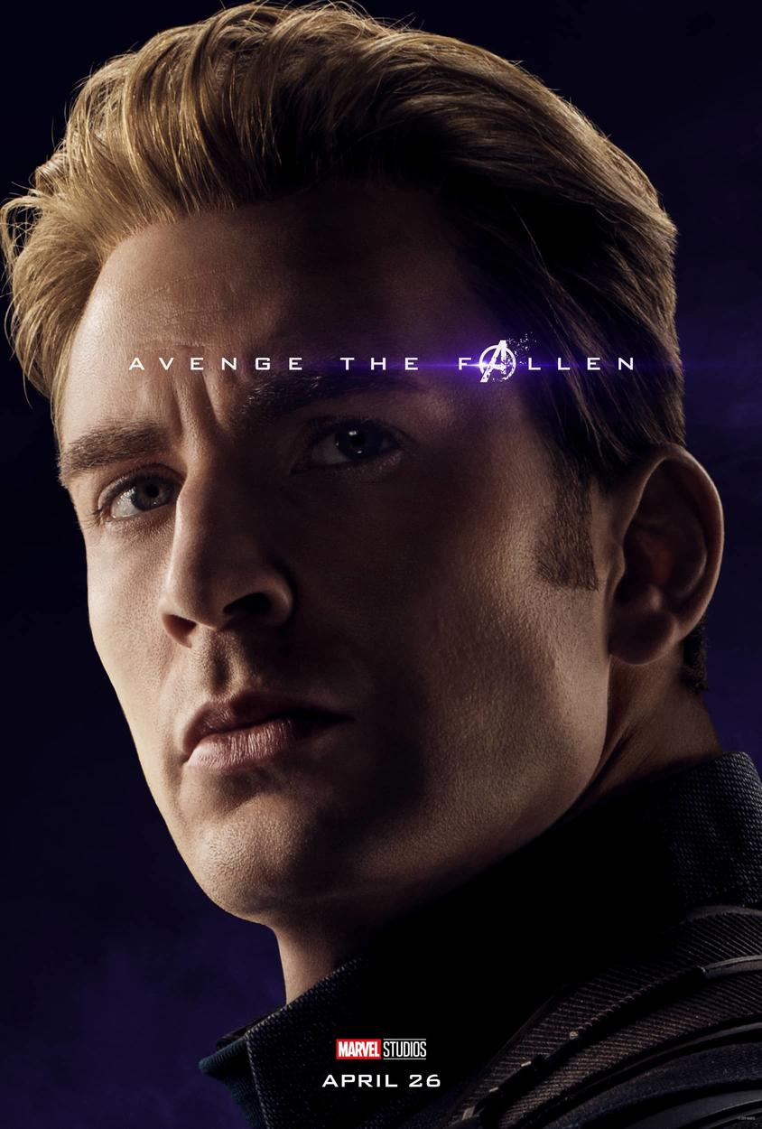 Image result for marvel character poster endgame captain america