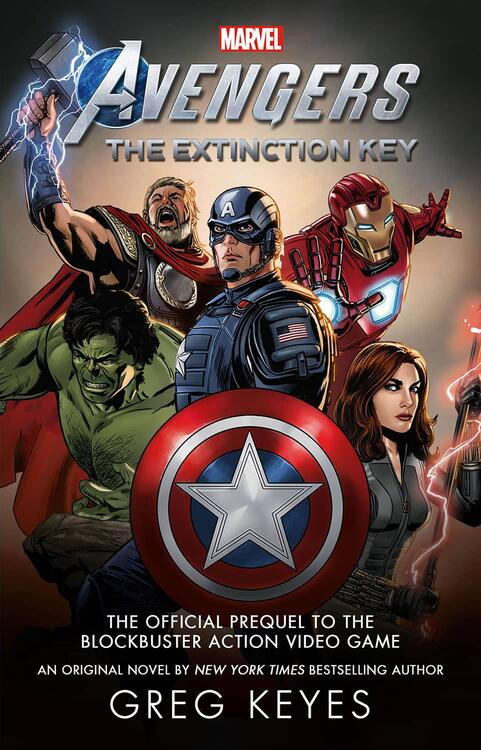 Marvel's Avengers: The Extinction Key cover art Steve Epting