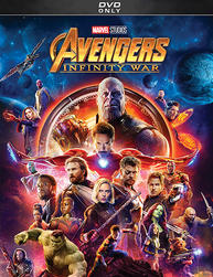 Avengers: Infinity War Movie DVD