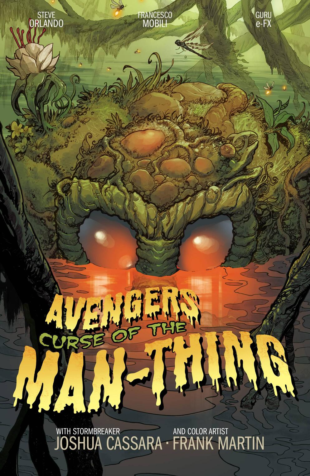 Avengers: Curse of the Man Thing variant cover