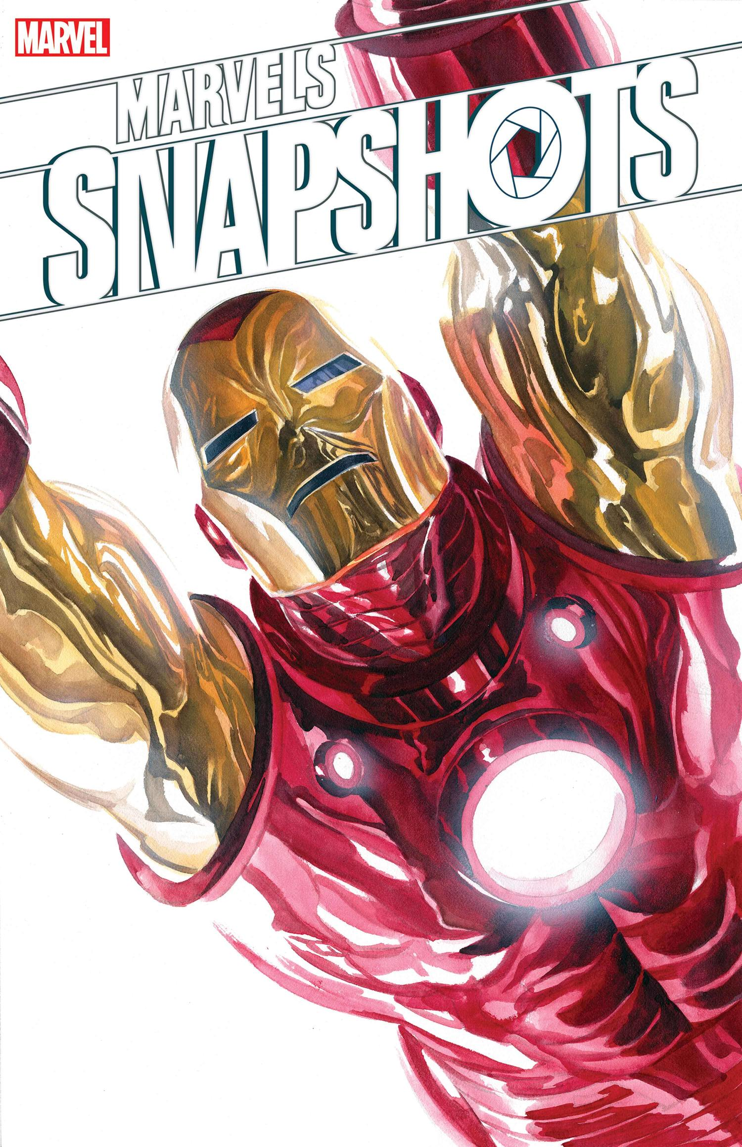 MARVELS SNAPSHOTS: AVENGERS cover by Alex Ross