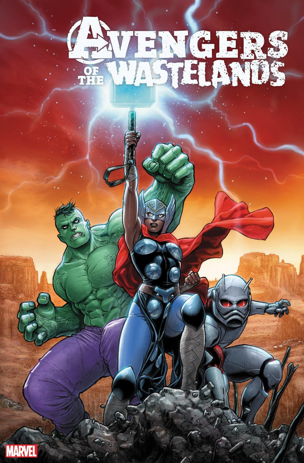 AVENGERS OF THE WASTELANDS #1 cover by Juan José Ryp