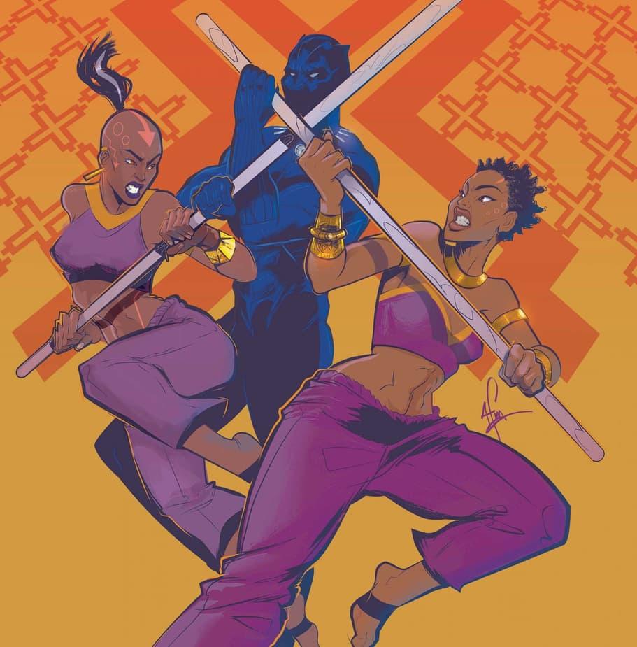 Ayo, Aneka, and Black Panther
