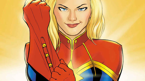 Image for Women's History Month: Captain Marvel