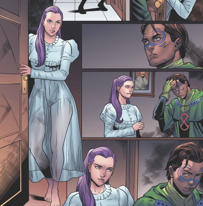 Interior art by Wilson Santos and Marcus To; inks by Sean Parsons, Marcus To, Roberto Poggi, and Victor Nava; colors by Erick Arciniega
