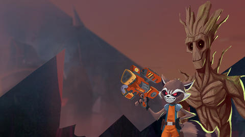 Image for 'Marvel's Rocket & Groot' Eligible for Outstanding Short Form Animated Program Emmy Nomination