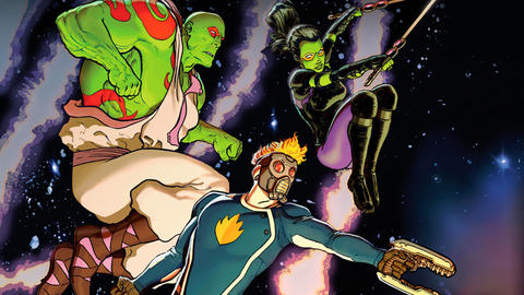 Image for All-New Guardians of the Galaxy: Embracing the Weird