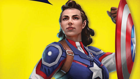 Image for This Week in Marvel Games: Peggy Carter Captain America, Infinity War Cap, and More
