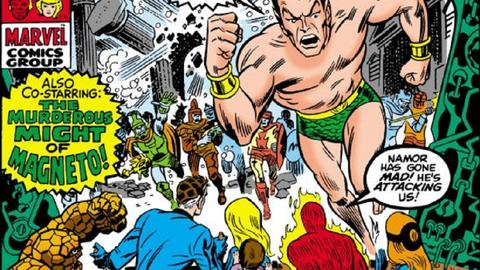 Image for Kirby 100: The Strength of The Sub-Mariner