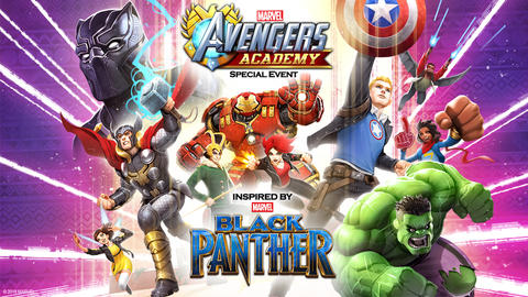 Image for Black Panther Brings Wakanda to 'Marvel Avengers Academy'