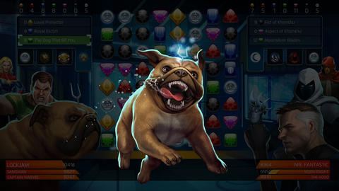 Image for How Lockjaw Can Be a Big Help in 'Marvel Puzzle Quest'