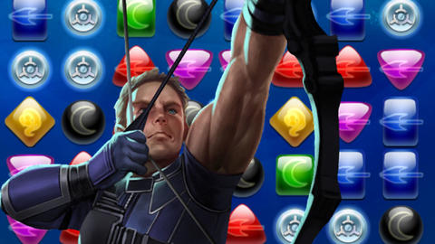 Image for Piecing Together Marvel Puzzle Quest: Hawkeye