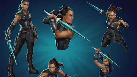 Image for Piecing Together Marvel Puzzle Quest: Valkyrie