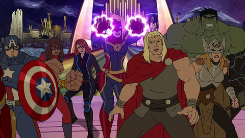 Image for 'Marvel's Avengers: Secret Wars' Season Finale Sneak Peek Assembles the Team