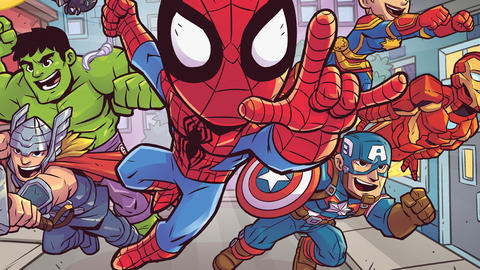 Image for Marvel Entertainment Launches 'Marvel Super Hero Adventures' Program for Preschoolers