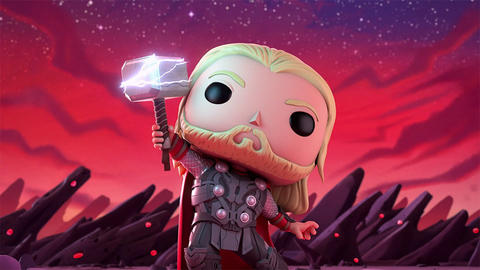 Image for Thor and Loki Face Off in New Marvel Funko Short