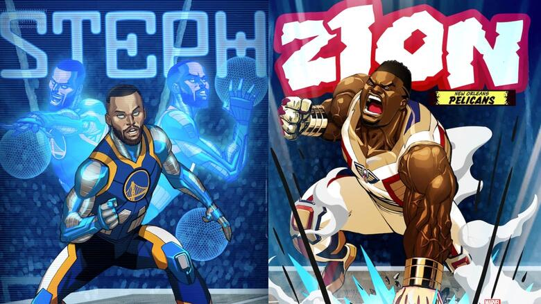 Marvel's Arena of Heroes: Golden State Warriors and New Orleans Pelicans Battle for Hero Points