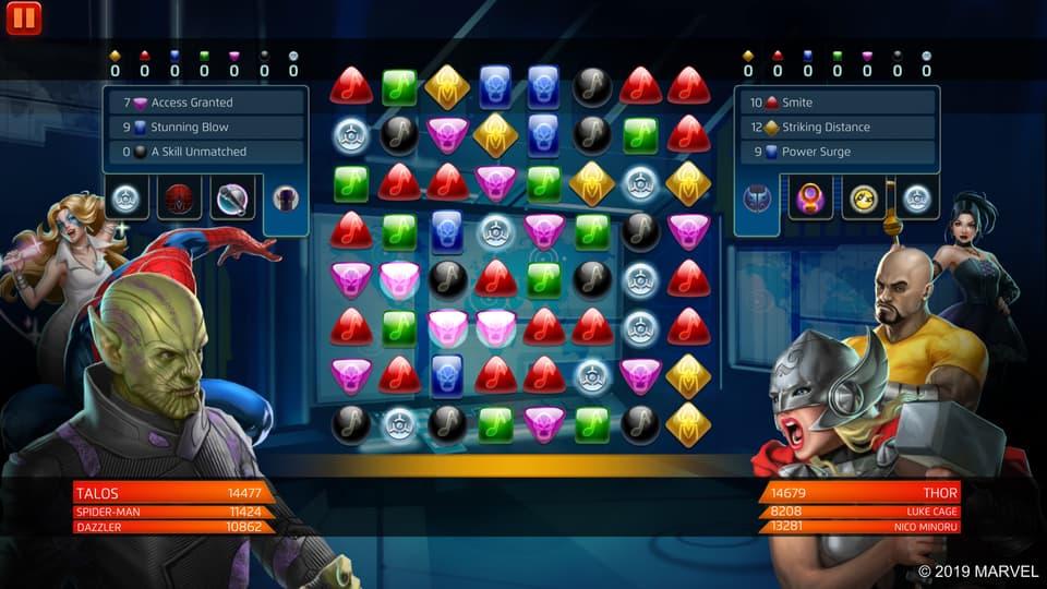 Marvel Puzzle Quest - Talos
