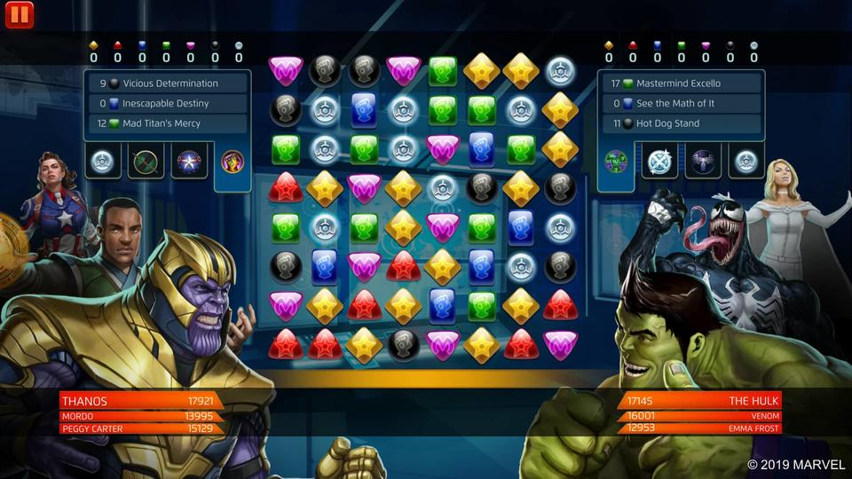Marvel Puzzle Quest - Thanos