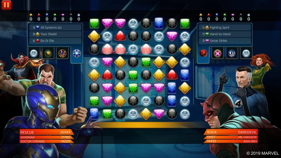 Marvel Puzzle Quest - Rescue (Pepper Potts)